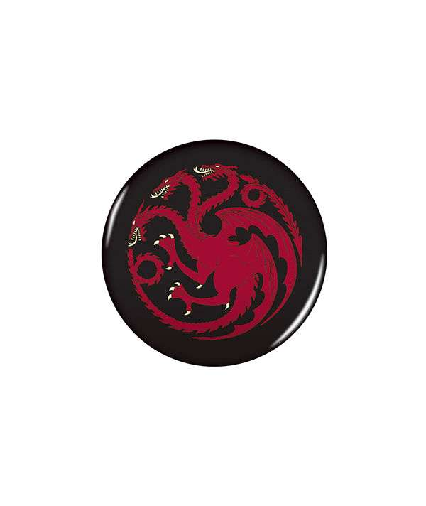Game of Thrones 2.25 Button: Targaryen